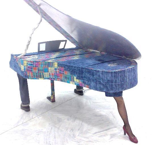 instruments de musique en papier