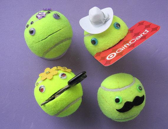 Rangement balle de tennis