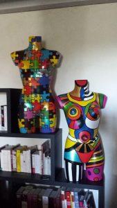 Les bustes et mannequins de Mannequin'Izar't
