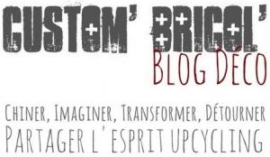 Custom' bricol : Le blog déco récup et idées déco